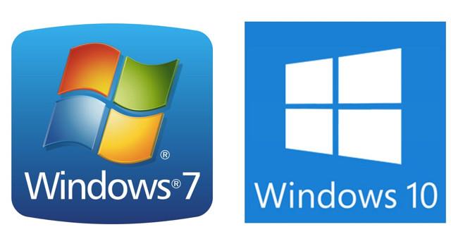 windows 10 &  windows 7
