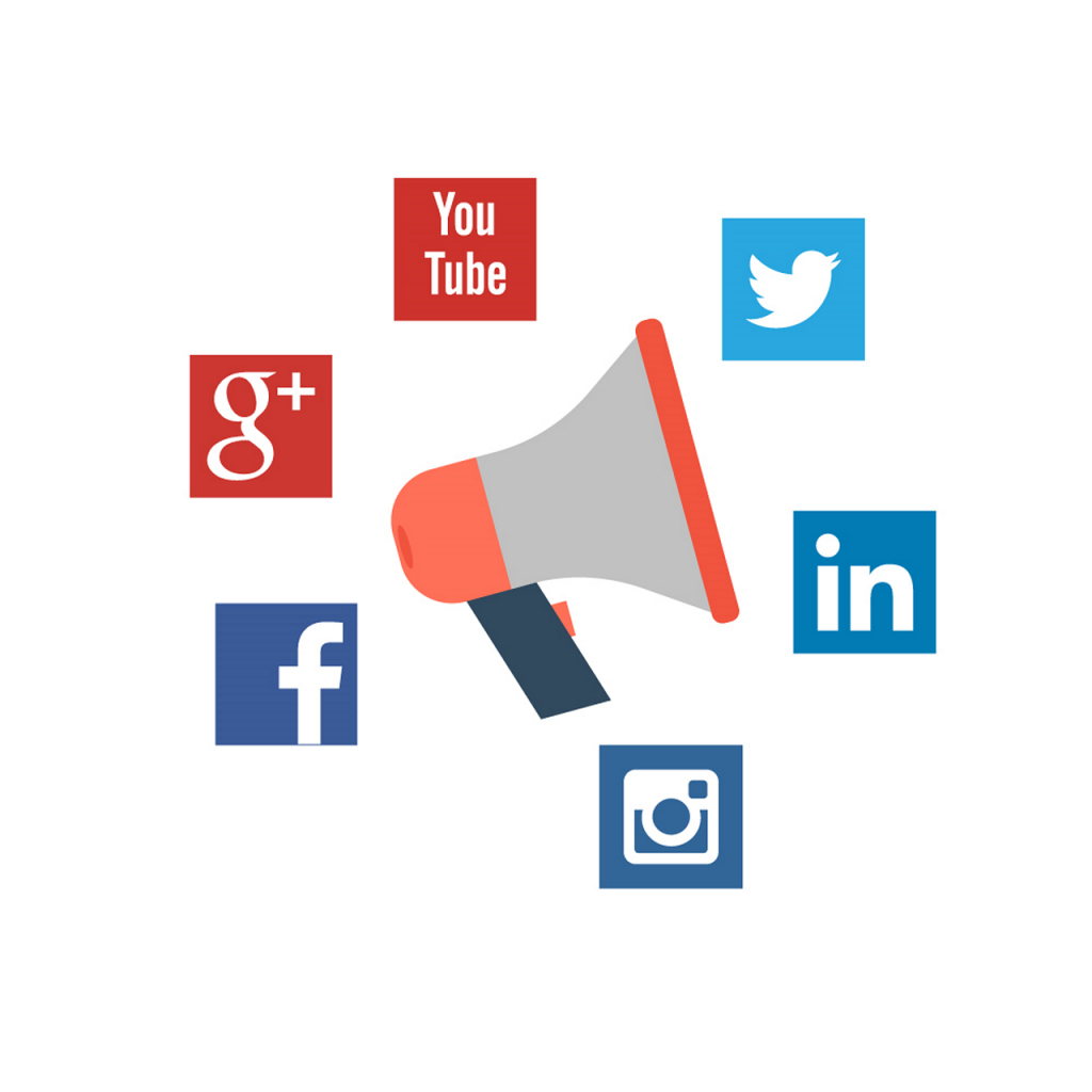 social media advertising icons