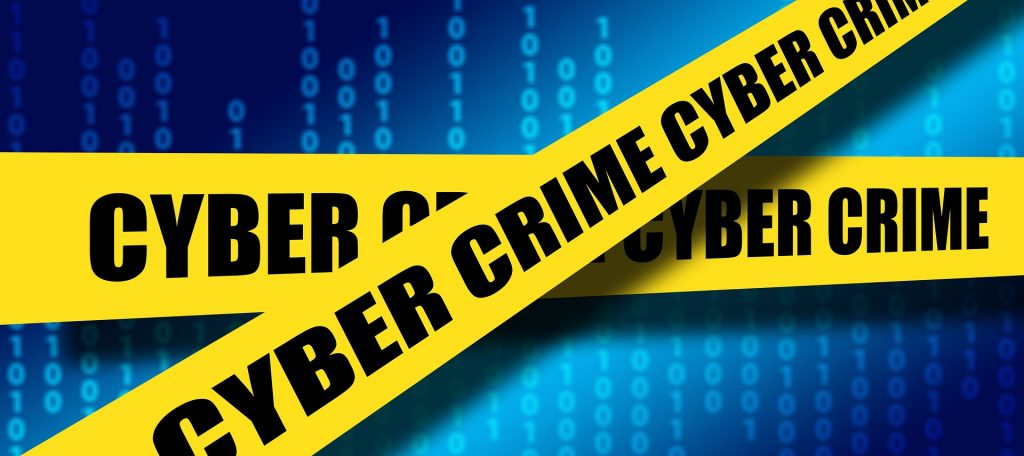 business cybersecurity crime scene