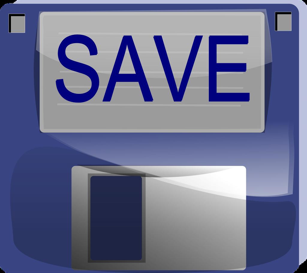 data backup floppy disk